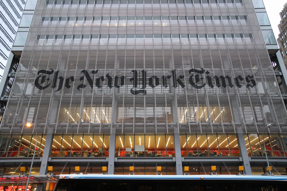 Very Little Interest In NY Times Options Ahead of Earnings, Is Donald Trump Right About Them?
