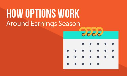 How Options Work Around Earnings Season