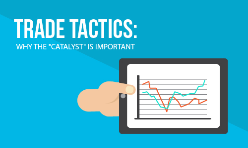 Trade tactics: Why a 'catalyst' is important