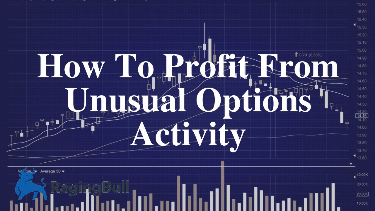 How To Profit From Unusual Options Activity - RagingBull