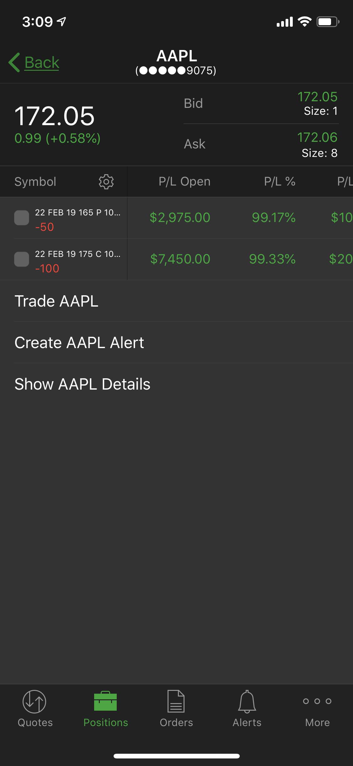 aapl options winner