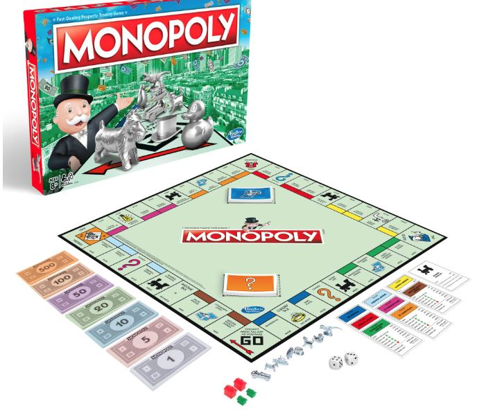 monopoly has toy stocks