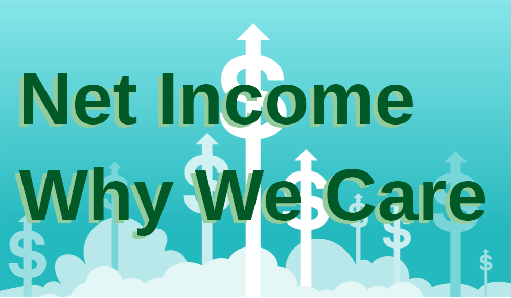 Net Income why we care