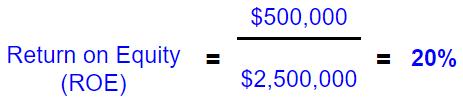 ROE example formula
