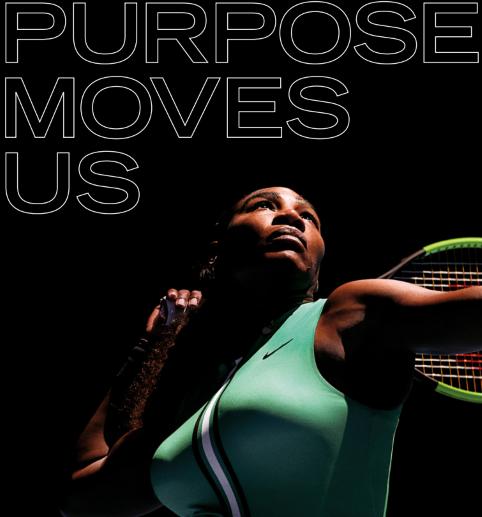 Nike tennis swing