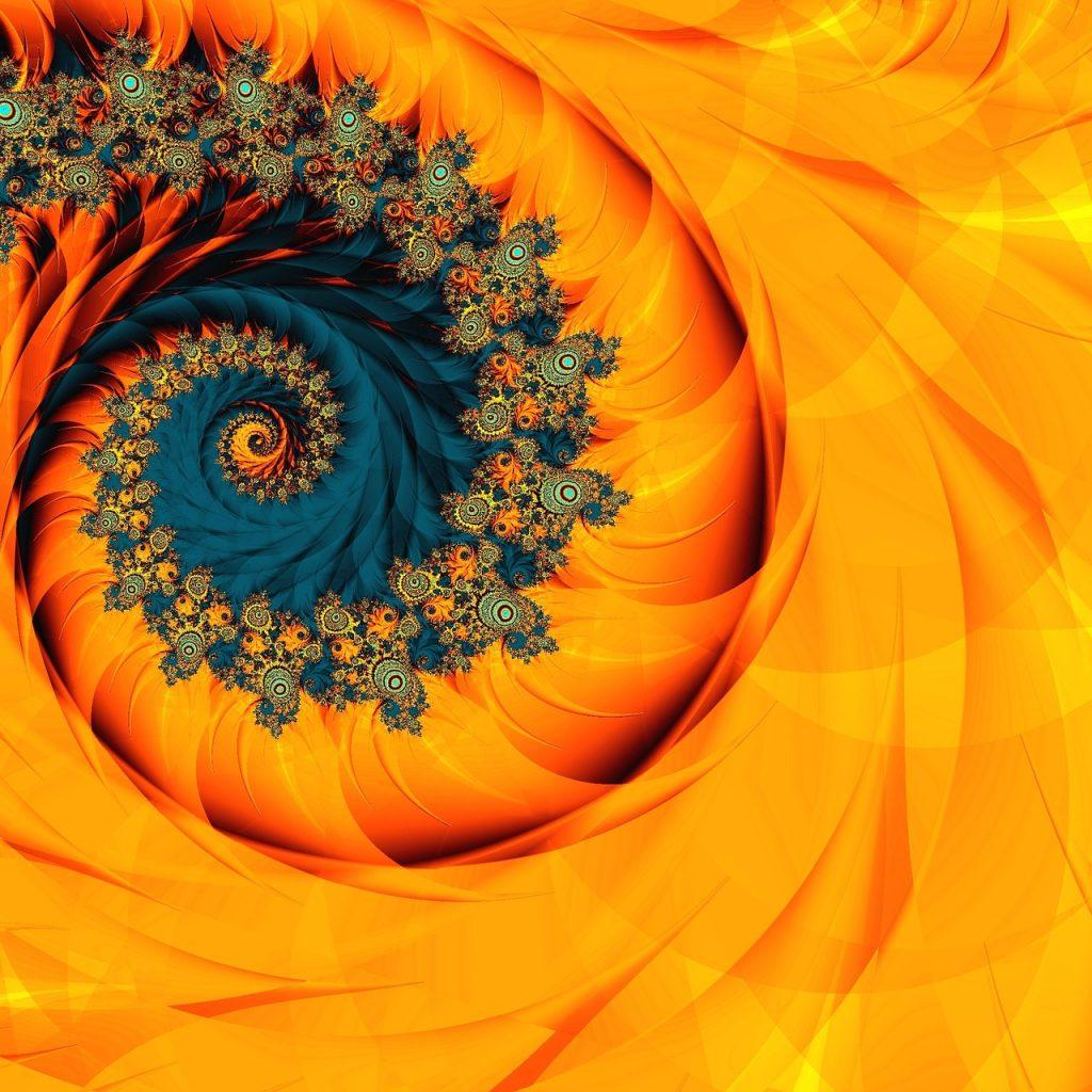 Fibonacci fractal art