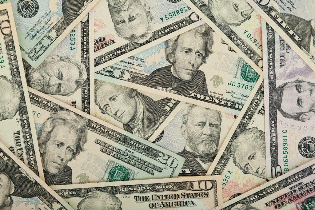 American money dollars