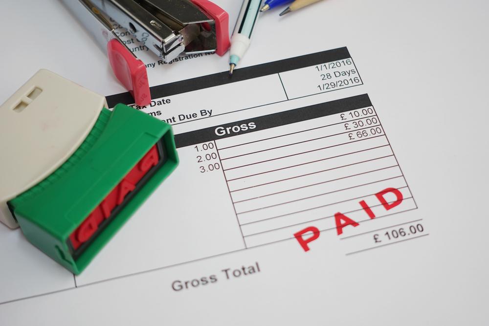 bill paid