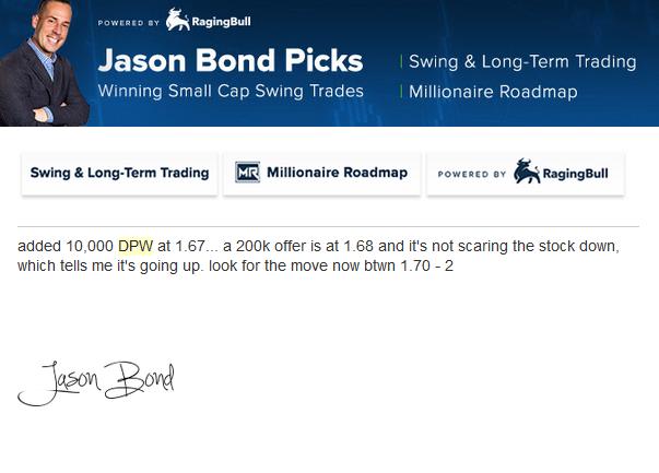 Jason Bond DPW