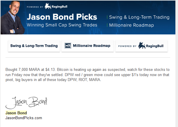 Jason Bond MARA